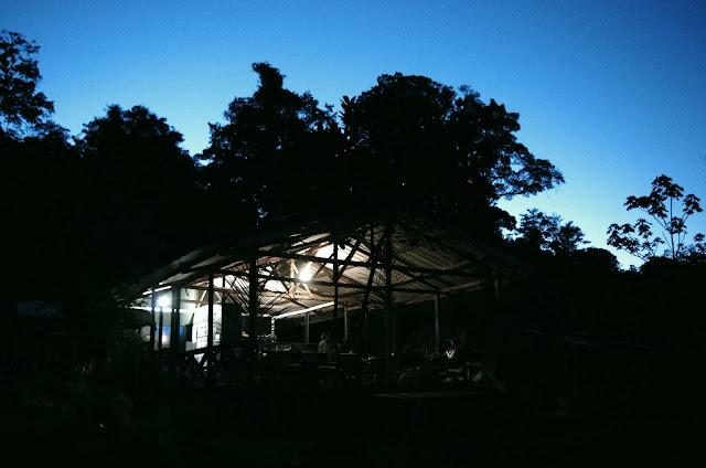 Les Carbets de Coralie (Crique Yaoni), 30 octobre 2012. Photo : J.-M. Gayman