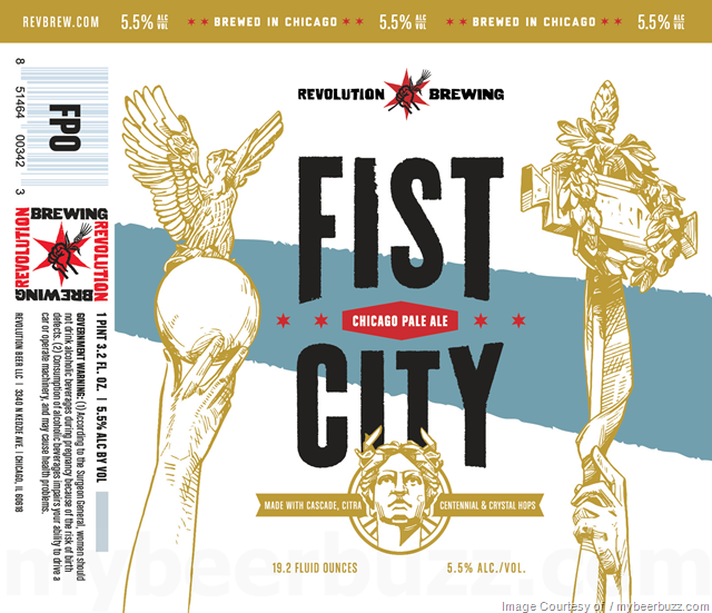 Revolution Brewing Fist City Coming To 19.2oz Cans