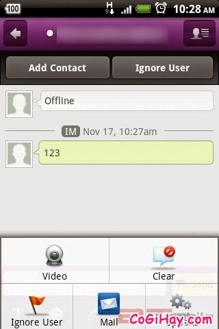 tải và cài đặt yahoo lên asus zenphone 5 để thực hiện video call