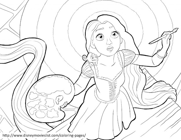 Download Coloring Pages Tangled Coloring Pages Tangled Coloring Sheet    Coloring Pages Printable Download