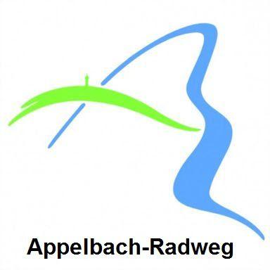 Logo Appelbach-Radweg, Donnersberkreis/Rheinhessen