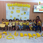 Celebration of Yellow Day by Play Group Section at Witty World Bangur Nagar (2018-2019)