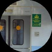 Стикеры в электричках