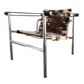 Le Corbusier LC1 Style Chair #1