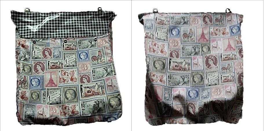 postopvangzak postzegels