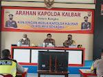 Kunjungan Kapolda Kalbar di Polres Sekadau Dalam Rangka Paparan Anggaran Tahun 2021