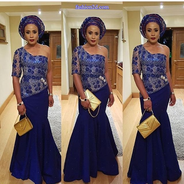 The Bbest Ankara Lace Gown Styles Just For You - Fashion 2D