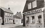 Noordhorn. Nieuwstraat Raiffeisenbank. Gelopen gestempeld in 1978.