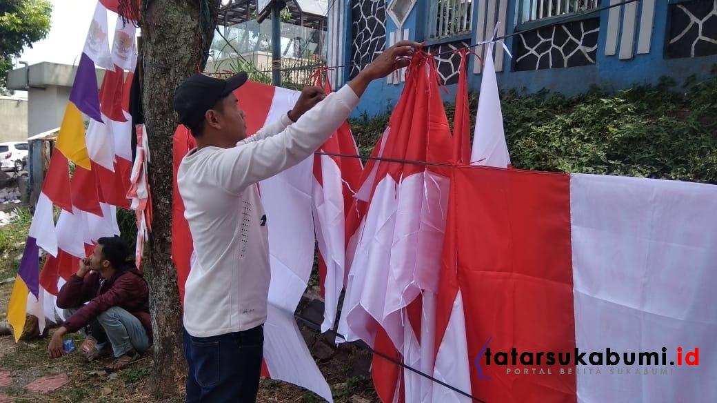 Harga Modal Bendera dan Pernak-pernik Agustusan Alami Kenaikan