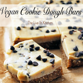 Vegan Cookie Dough Bars.