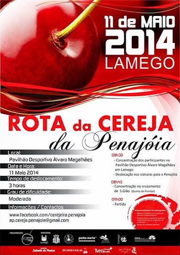 Caminhada da Rota da Cereja da Penajóia - 11 de maio de 2014