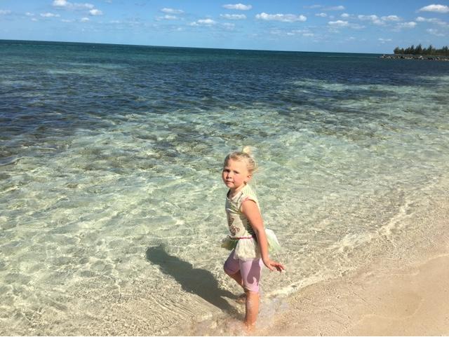 Loey on beach