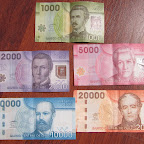 Chilenische Banknoten