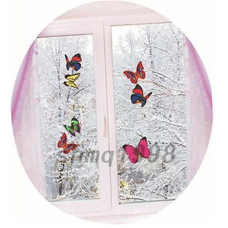 Papillon veilleuse lampe led mural sticker d coration nuit chambre enfant b b ebay - Duree de vie papillon de nuit ...