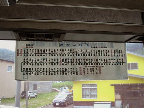 阿寒バス「釧路羅臼線」 運行系統図