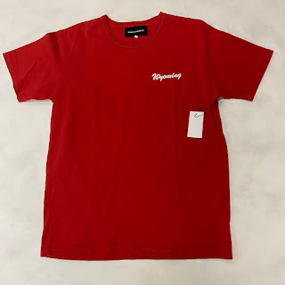 "Bianca Chandon NEW ""Wyoming"" T-Shirt Red"
