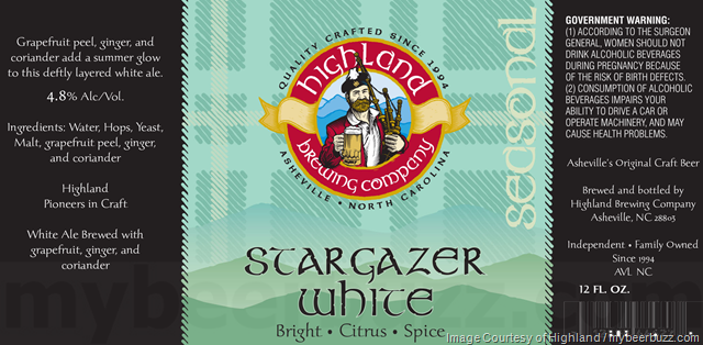 Highland Brewing Adding Stargazer White