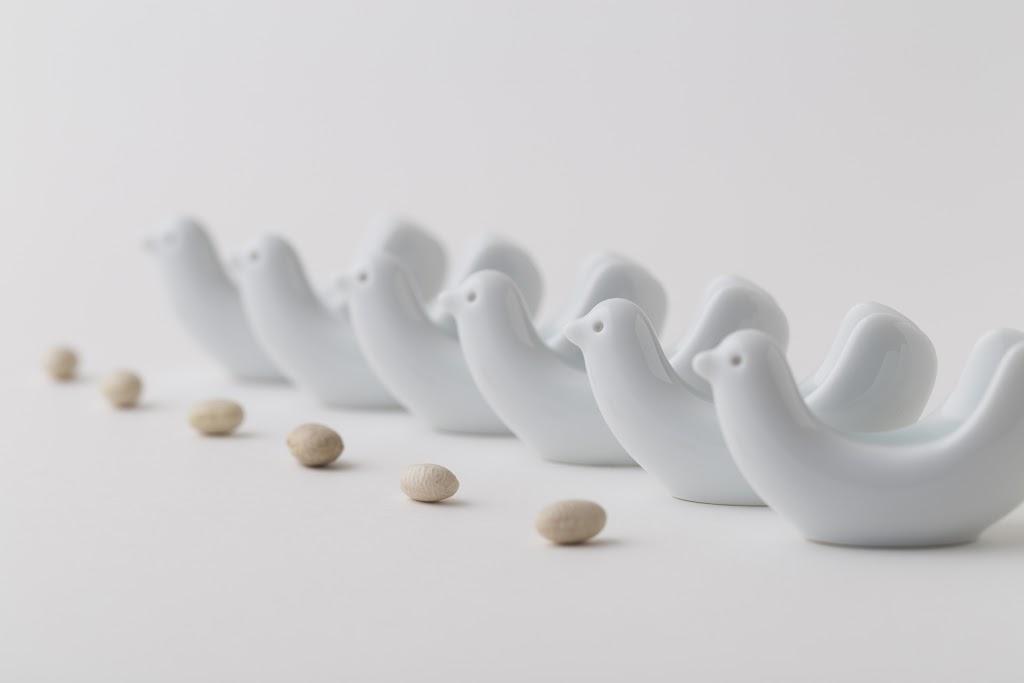 Bird Tori-gata Hashioki Chopsticks-rest (set of 6)