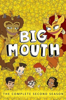 capa Big Mouth 2ª Temporada