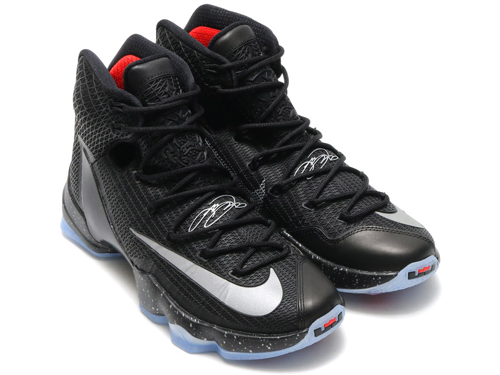 Get Up Close & Personal with LeBron 13 Elite Black | NIKE ...