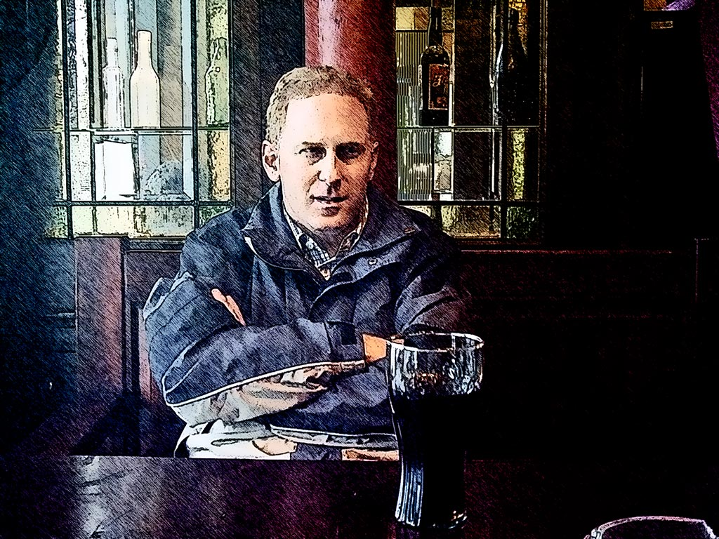 Photo: Waiting For Lunch Sitting in a pub across the street from the Imperial War Museum, London.
