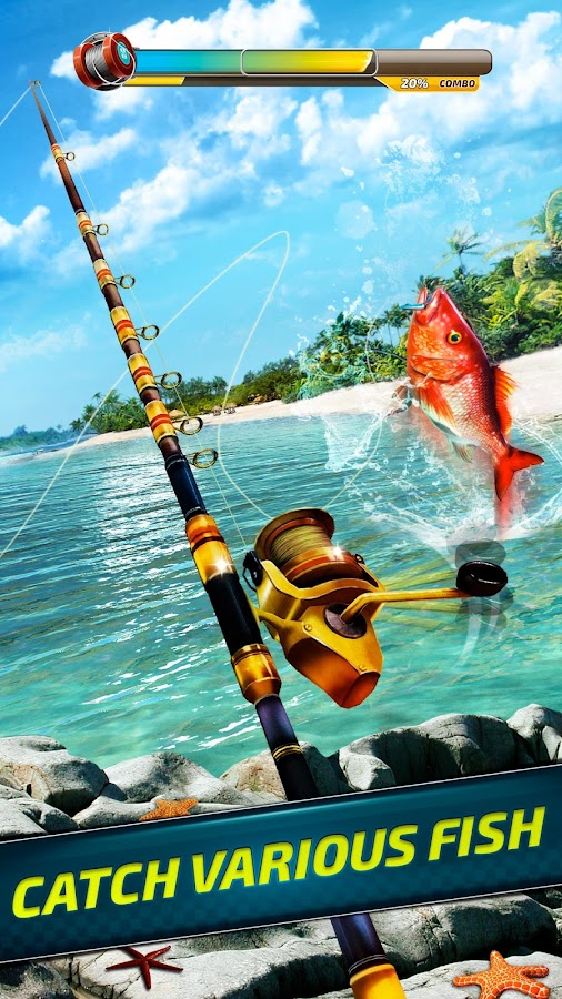 Extreme Sport Fishing: 3D Game. Fishing simulator.- screenshot