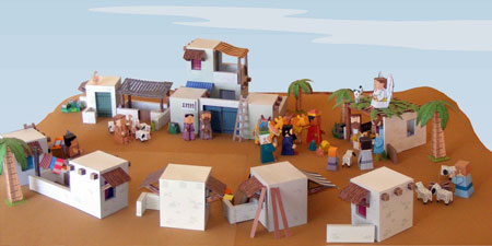 Town of Bethlehem Papercraft