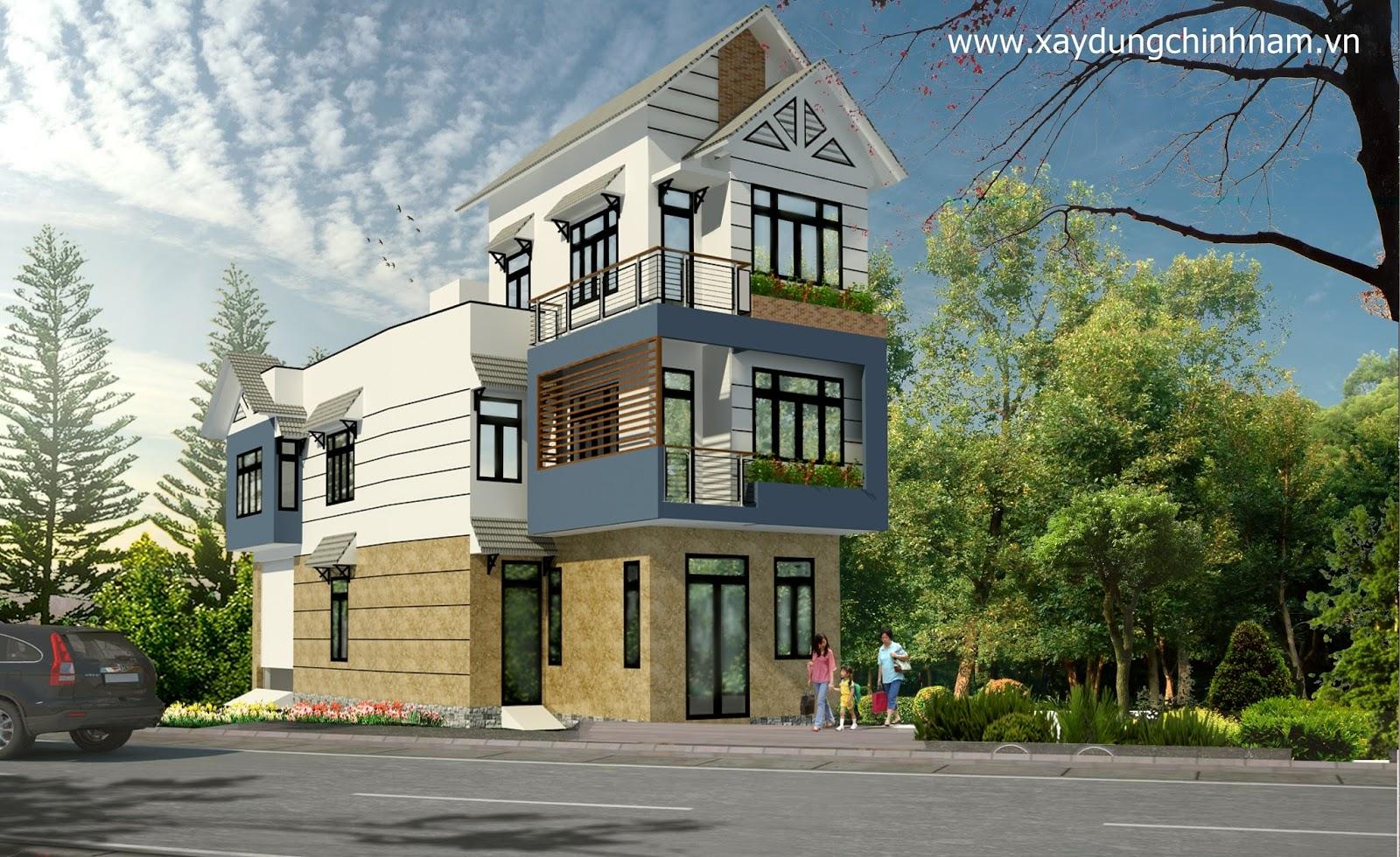 Thiết kế nhà anh Tài Biên Hoà Đồng Nai