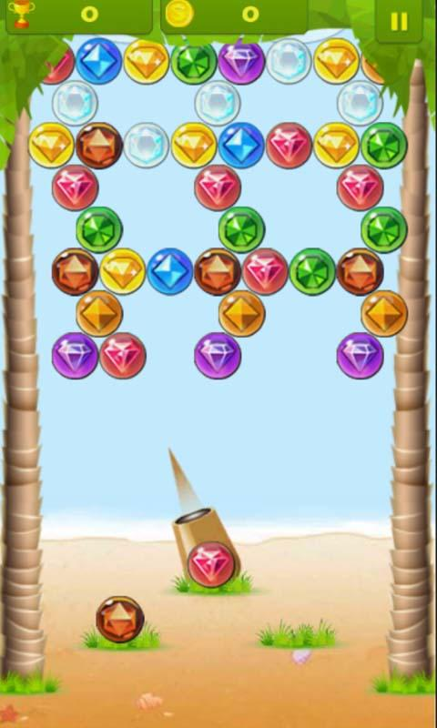 Jewels Bubble Shoot- screenshot