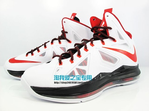 Upcoming Nike LeBron X 8211 Miami Heat Home 8211 New Images