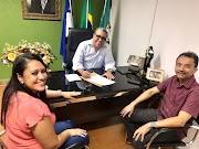 PREFEITO EVERTON COSTA ASSINA TERMO DE ADESÃO AO SERVIÇO MÓVEL DE URGÊNCIA -  SAMU