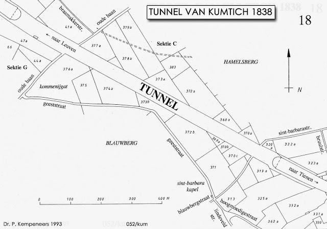 Figuur 15: De Tunnel van Kumtich in 1838.