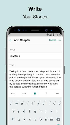 Inkitt Writing: Tell The Story 1.1.18 screenshots 1