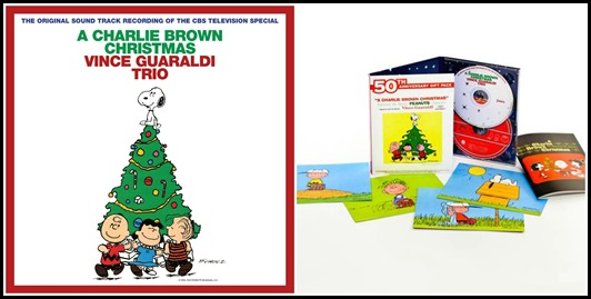 Charlie Brown Christmas Special 50th Anniversary CDs