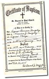 Thorp_Agnes_B_baptismal cert_1904