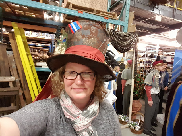 Me in a very fun at at the Stratford Festival Costume Warehouse. From Visiting Stratford, Ontario? The first thing you need to do...