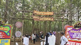 Di Resmikan Bupati, Wisata Kebon Jatidipala Sambut Pengunjung Dengan Protokol Covid-19