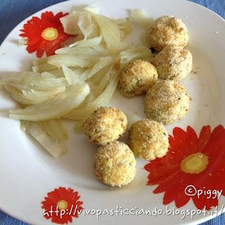 crocchette di surimi e ricotta