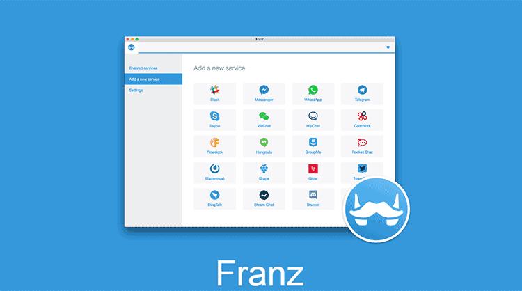 Saatnya Anda Bertemu Franz, Aplikasi Pengumpul Chatting