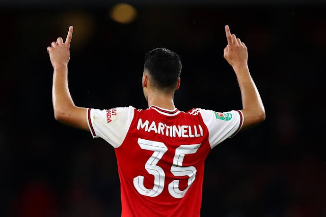 Unai Emery hints to change Martinelli's position