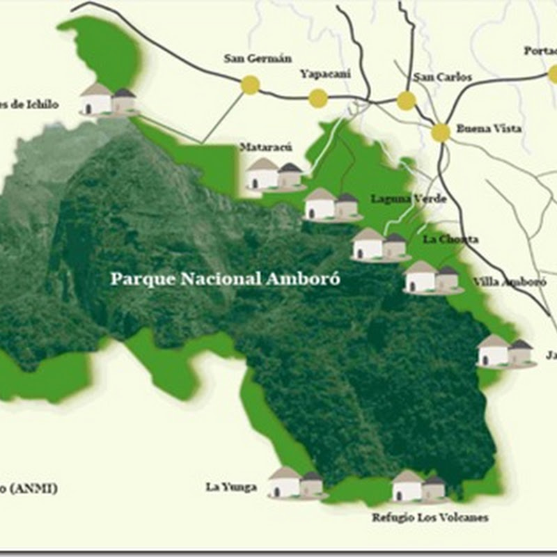 Parque Nacional Amboró (1984): Departamento de Santa Cruz, Bolivia