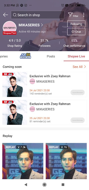 Terjebak Shopping Di Shopee LIVE! Gara-Gara Zoey Rahman Berkongsi Manfaat Produk MIKASERIES!