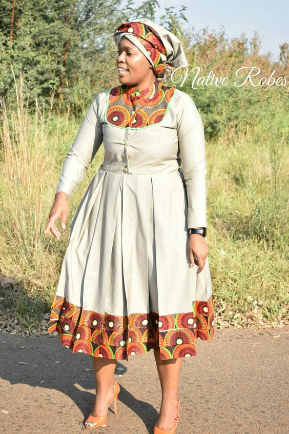 SHWESHWE TRADITIONAL DRESSES FOR 2020 NEW YEAR 3