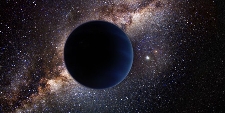 Planet-Nine-in-Outer-Space-artistic-depiction