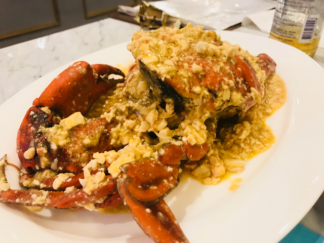 Salt & Crab Seafood Dining in Clark, Pampanga - salted egg crab
