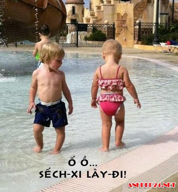 những hình đáng yêu của trẻ con