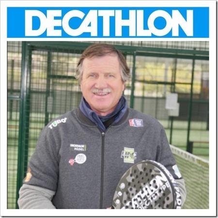 Decathlon Pádel contará con Horacio Álvarez Clementi como asesor técnico.