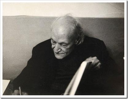 MARIO DONDERO. Ritratto di Giuseppe Ungaretti. 1969
