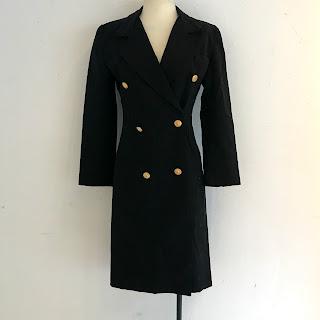 Yves Saint Laurent Vintage Coat Dress