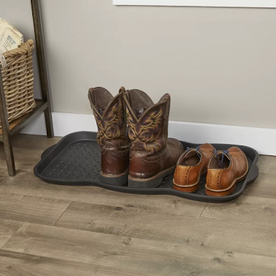 Non-Slip Outdoor Boot Tray